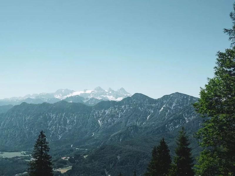 Panoramablick Salzkammergut