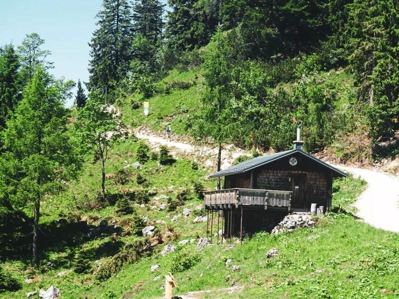 Hütte auf der Katrin