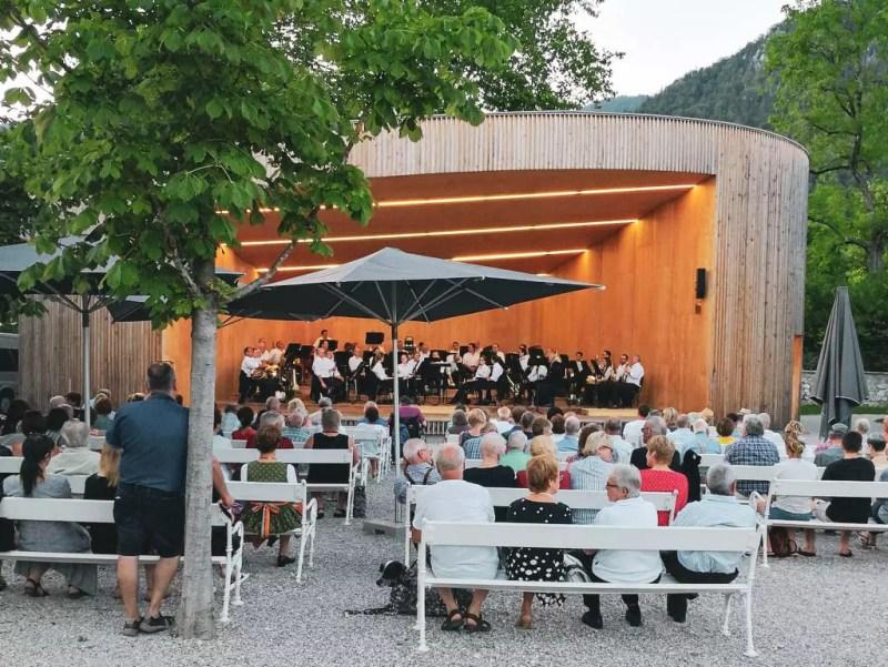 Kurkonzert im Kurpark Bad Ischl
