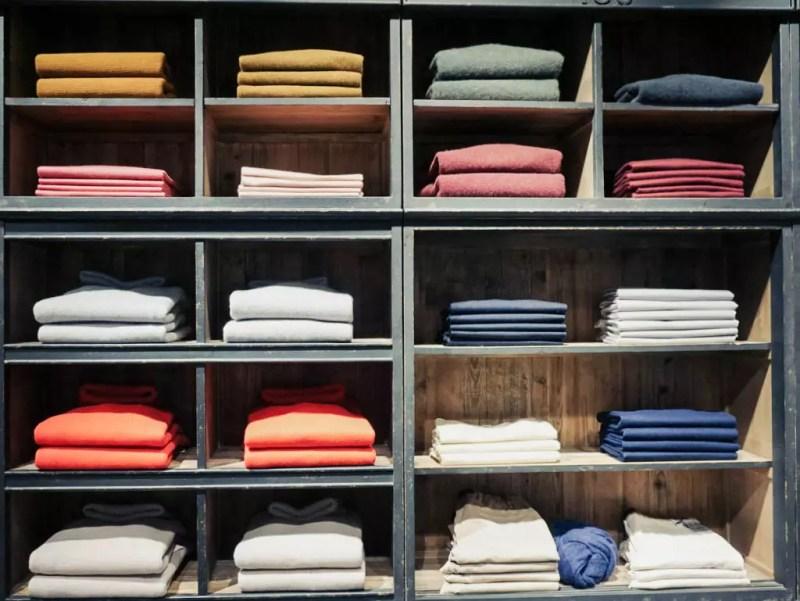 Pulloverstapel