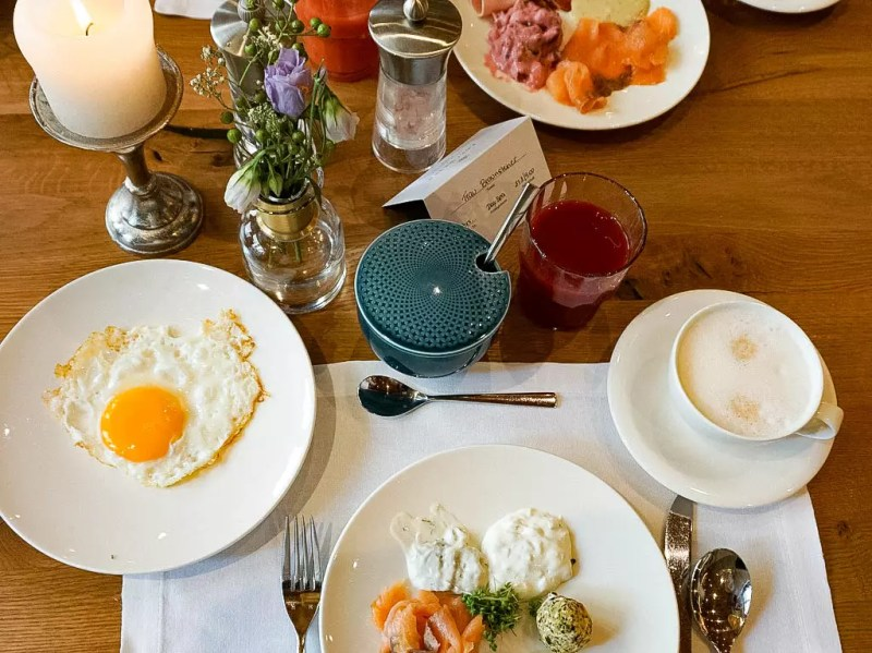 Frühstückstisch Edelweiss Großarl