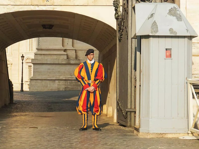 Schweizer Gardist