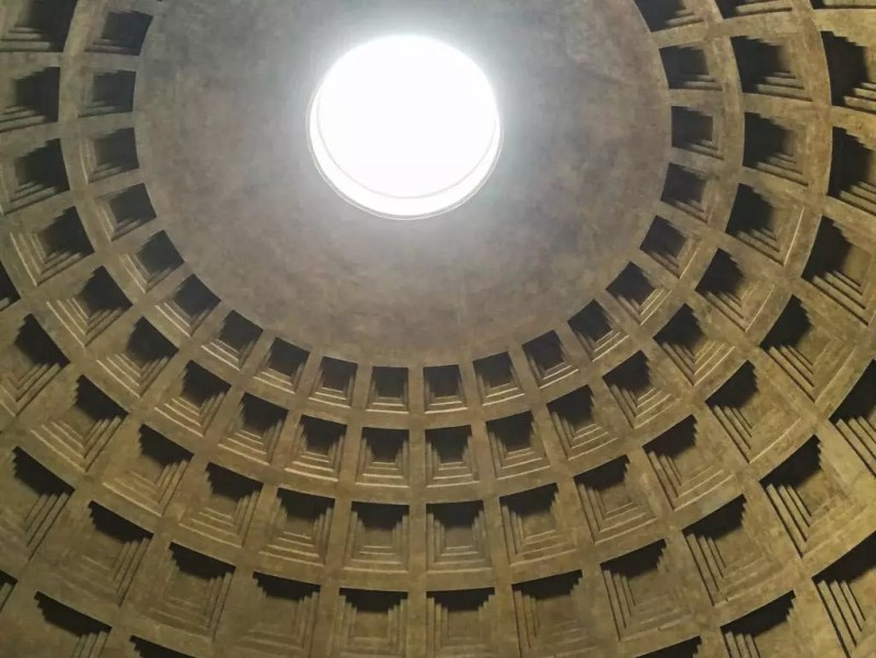 Kuppel im Pantheon
