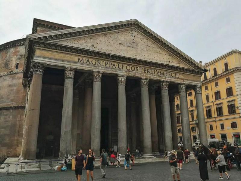 Pantheon Außenansicht