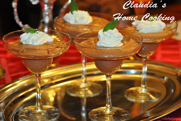 Chocolate Mousse – Claudia's Home Cooking