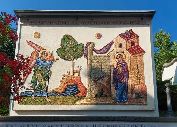 Cercivento, mosaici, Bibbia a cielo aperto