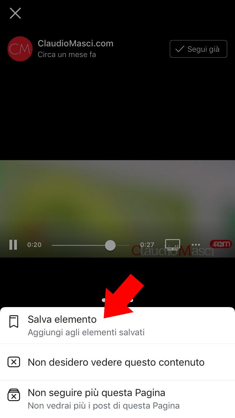 scaricare un video da facebook per iphone - 2