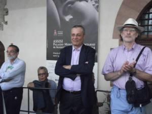Canova Assisi 10 Agosto 2013 ascoltando la Banda