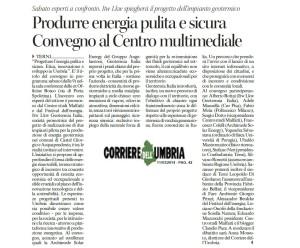 Progettare Energia Pulita  Corriere Umbria 11 03 2014
