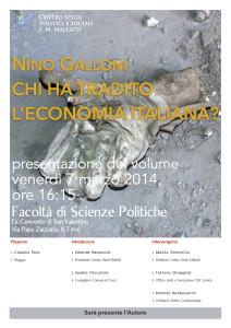 Economia Tradita Galloni 07-03-2014