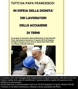 AST dal Papa tutti dal papa