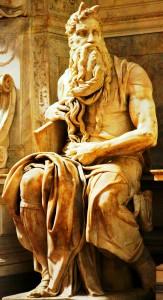 exodus Michelangelo Mosè