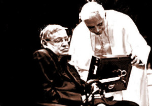 Stephen Hawking Papa Benedetto