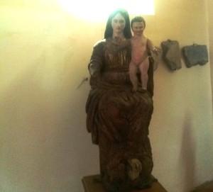 Cristo Misterioso Madre e Bambino Alatri