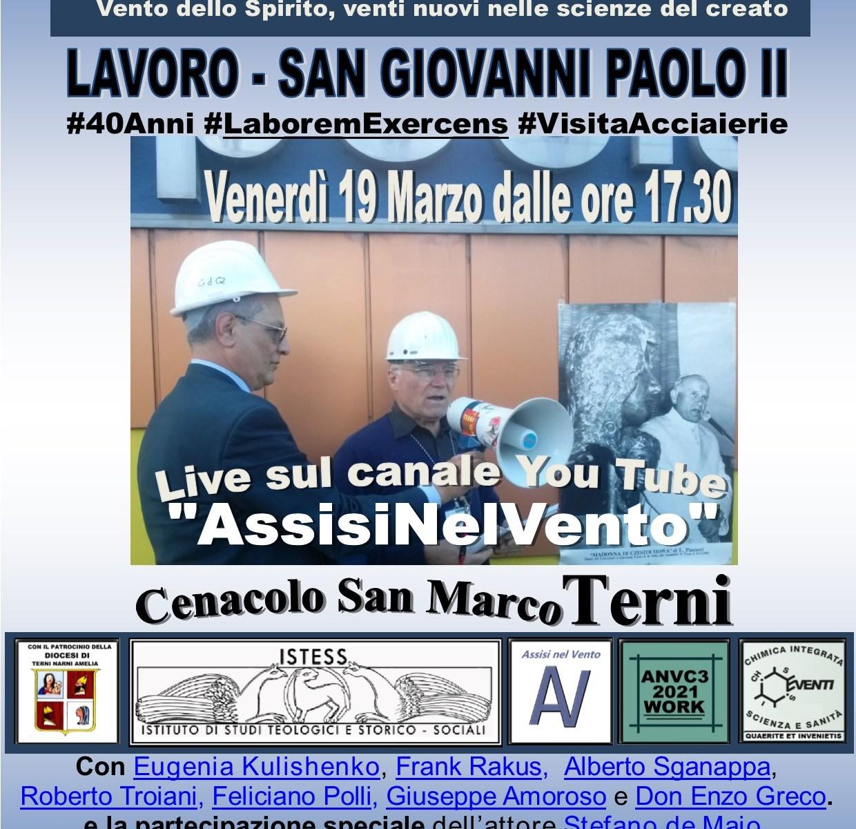 Papa Giovanni Paolo II a Terni
