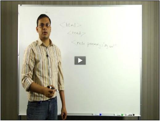 Vidéo d'introduction au protocole Open Graph de Facebook - en Anglais