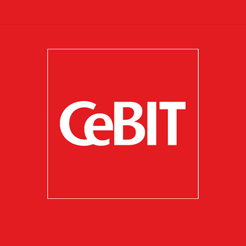 CeBIT 2009 – Der Hermes brennt lichterloh.