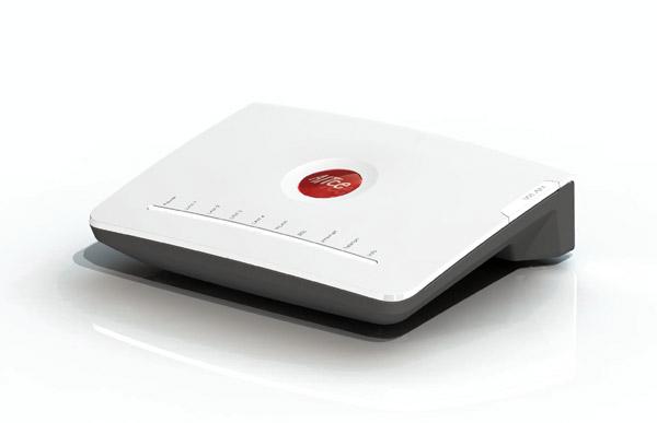Mein Alice DSL-Router. (Bild: Hansenet)