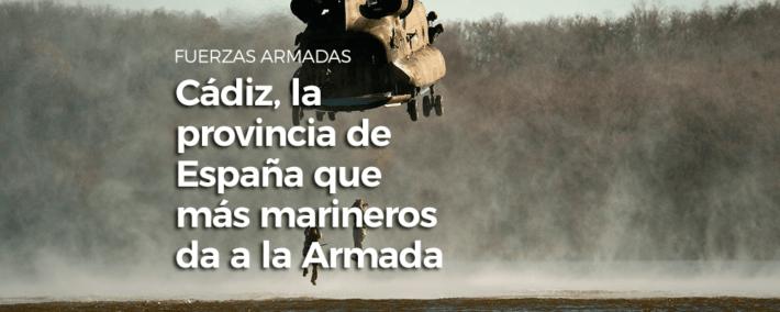 ¿Sabías que Cádiz es la provincia de España que más marineros da a la Armada? - Academia Claustro