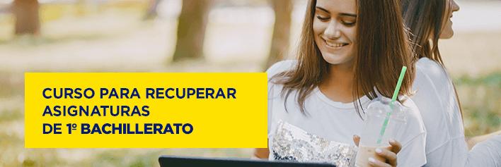 Curso de verano para recuperar asignaturas de 1º de Bachillerato - Academia CLAUSTRO