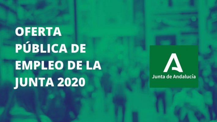 La Oferta Pública de Empleo de la Junta de Andalucía de 2020 suma 2.506 plazas de Administración General