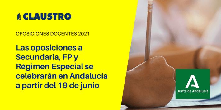 Las oposiciones a profesores de Secundaria en Andalucía ya tienen fecha este verano