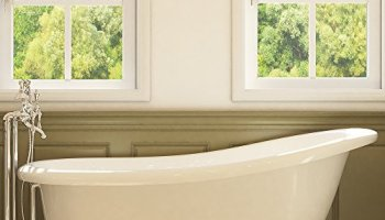 54 inch clawfoot tub. Luxury 67 inch Clawfoot Tub with Vintage Slipper Design in White  includes Polished Chrome 54