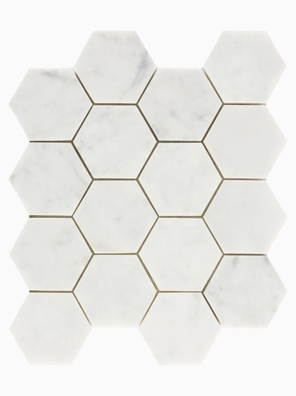 brookhaven hexagon mosaic