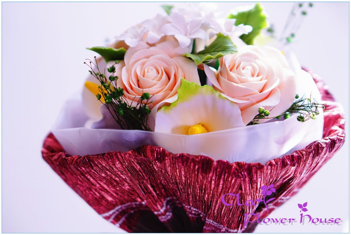 Clay Flower Bouquet-32