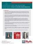 Top 10 Reasons to buy a Clayton Steam Generator: Compact Size