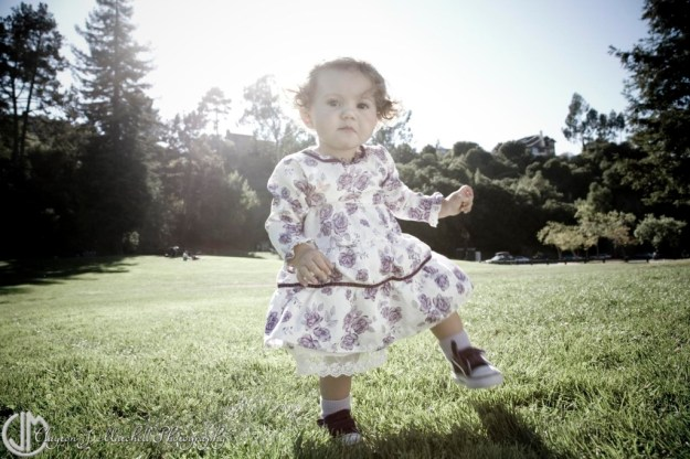 Cute Baby at the Park