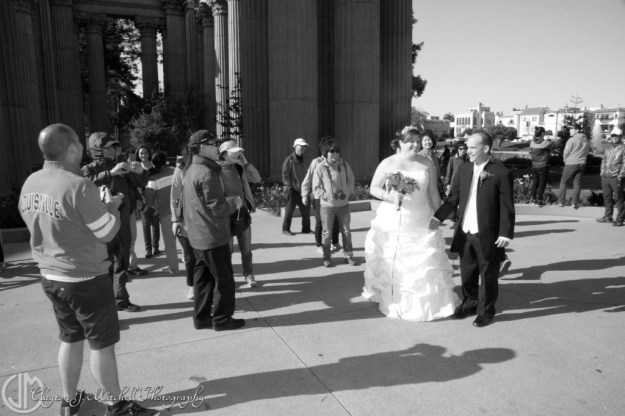 Bride and Groom San Francisco