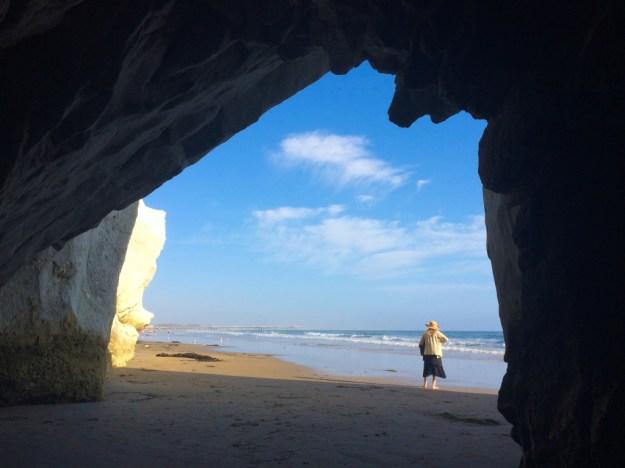 Cave at Pismo Beach