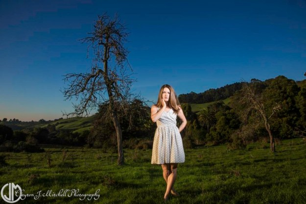 woman posing with a tree in Wildcat Canyon park