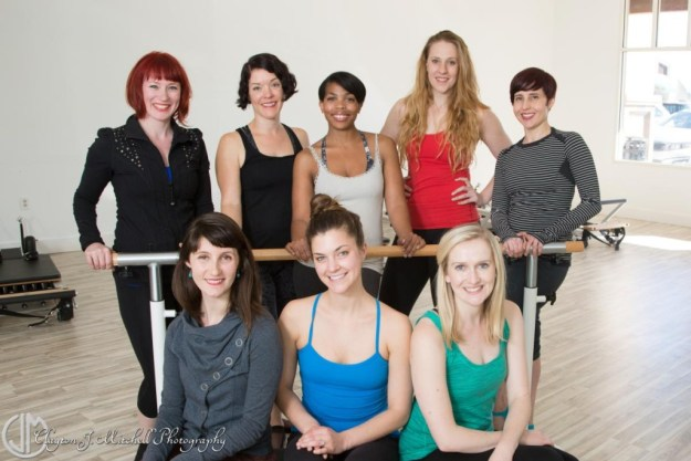 Staff photo Blue Sparrow Pilates