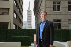 Executive portrait with Transamerica tower in background