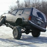 Jeep Cherokee 6 5 Pro Series 3 Link Long Arm Lift Kit W Rear Coil Conversion 1984 2001 Xj Clayton Offroad