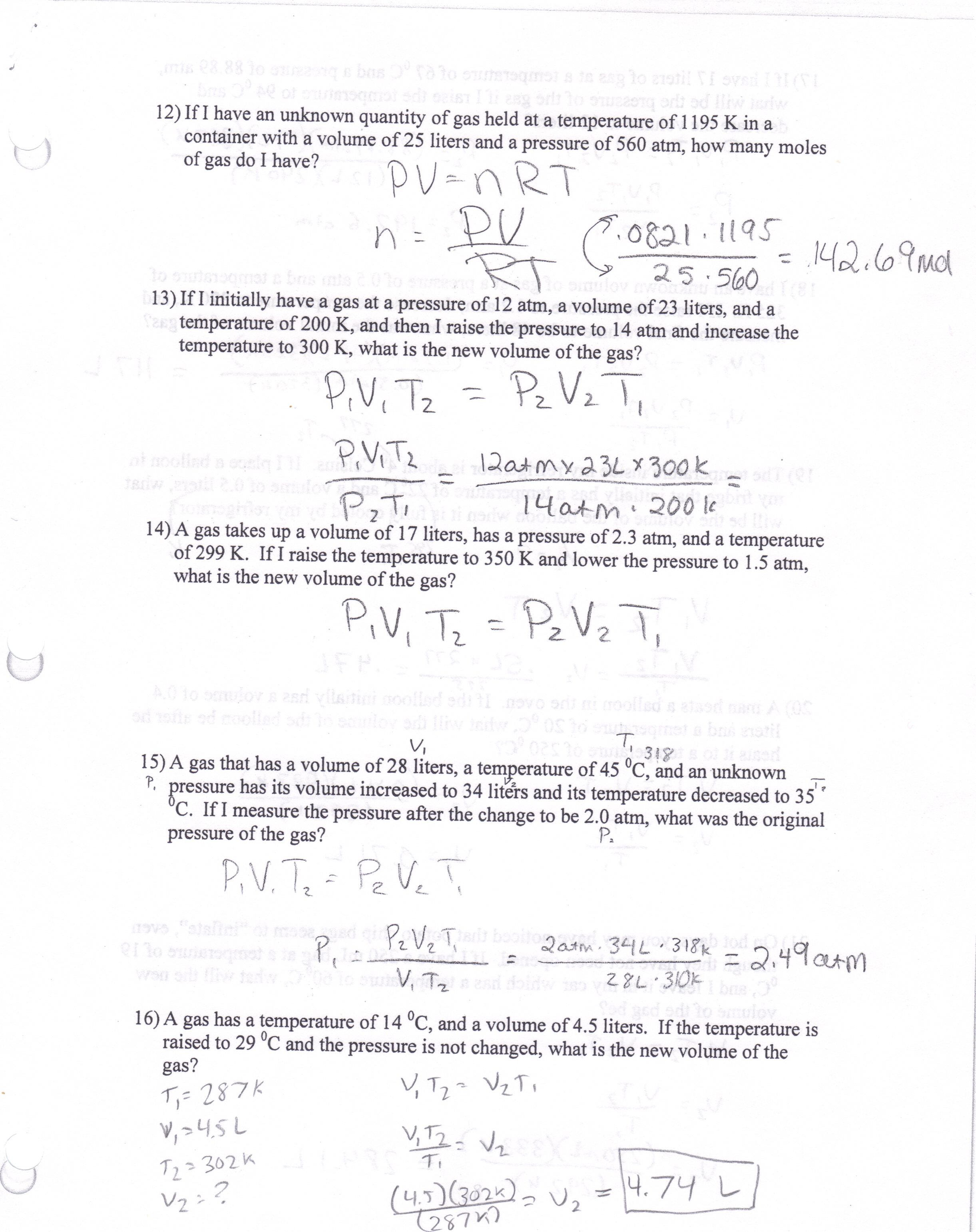 Printables Specific Heat Worksheet With Answers Mywcct