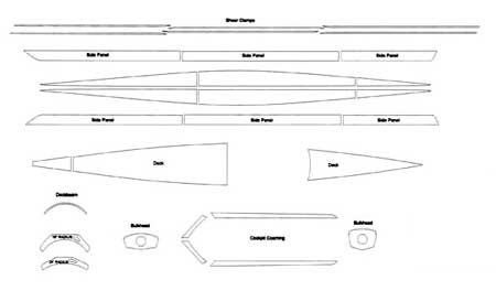 wood rowing shell plans