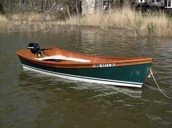 wooden skiff plans