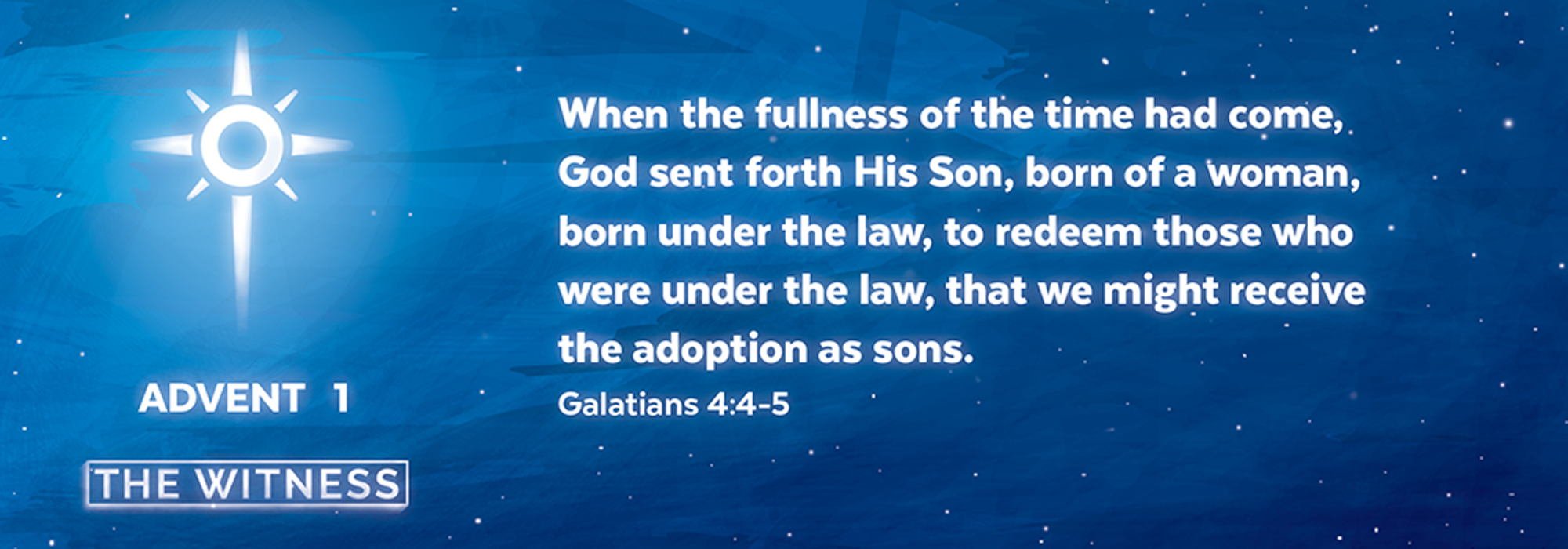 Read more about the article Advent 1: Awaiting the Promise, Then and Now