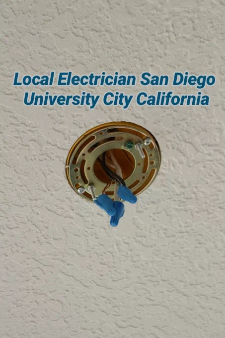 Local Electrician San Diego University City California