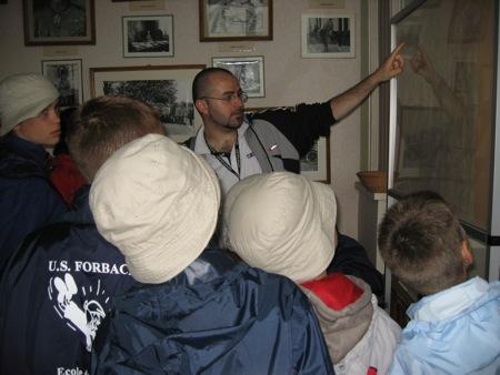 Un petit cours d'histoire à la Mairie de Souilly