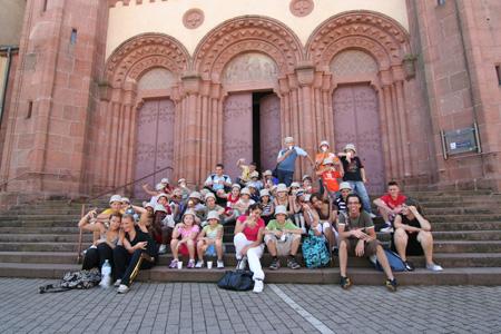 La visite de la ville de Sénones