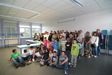 L'ensemble des participants à ce grand projet de vacances !