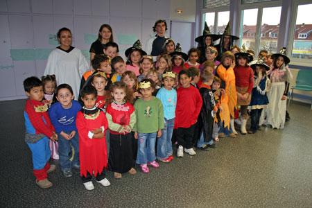 Tous les enfants se sont déguisés pour cette dernière journée de vacances
