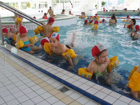 Le CLSH à la piscine !