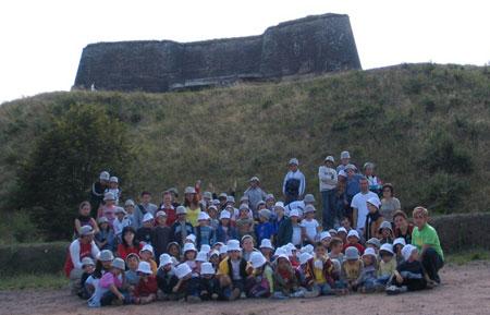 La visite de la citadelle de Bitche à plongé les enfants dans l'histoire de la Lorraine !