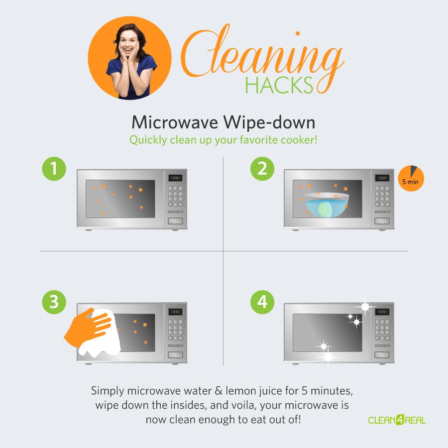 lemon or vinegar cleaning tips