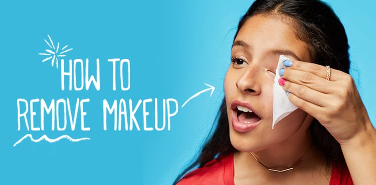 How To Remove Makeup With Remover
